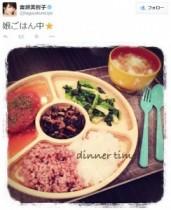 【エンタがビタミン♪】吉瀬美智子の娘ちゃんへの手料理がおしゃれ。ファンも「バランスがいい!」と絶賛。