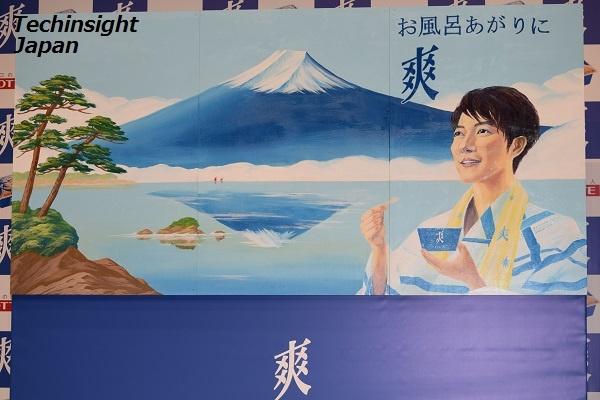 日本に3名しかいない銭湯のペンキ絵師・田中みずきさんが描いた巨大な銭湯絵