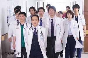 「医師たちの恋愛事情」舞台となる江洋医科大学附属病院の面々