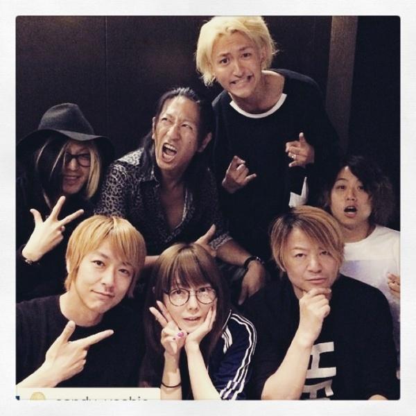 【エンタがビタミン♪】GLAY・TAKUROの誕生日をメンバーが祝う。ワンオク、aikoも駆けつけた!
