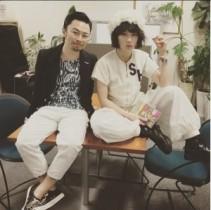 【エンタがビタミン♪】浜野謙太がコムアイと夢のツーショット。「なんか腹立つ!」「裏山」とファン複雑。