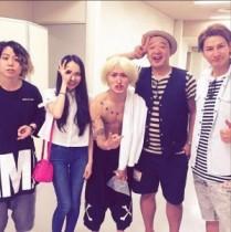 【エンタがビタミン♪】ONE OK ROCKと並ぶJOY、ベッキーらのショットに「すごいメンバー!」