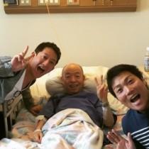 【エンタがビタミン♪】サバンナ、坂田利夫のお見舞いで病院へ。師匠は「退院して、もっとアホになったるねん!」