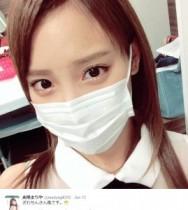 """【エンタがビタミン♪】AKB48・まりやぎの""""ざわちん風""""姿に本家が反応。「おほほほほ…なんてかわいい~!!」"""
