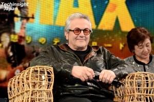 「マッドマックス1が撮影された時、トム・ハーディは生後6週間だったよ(笑)」とジョージ・ミラー監督