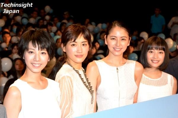美しすぎる四姉妹の長女はかなり天然キャラ 夏帆、綾瀬はるか、長澤まさみ、広瀬すず
