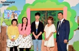 番組収録に出演したゲストたち おかずクラブ、藤井隆、辻希美、レイザーラモンRG