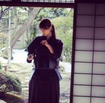 【エンタがビタミン♪】松井玲奈の凛々しい剣道着姿。「格好いい!」「日本の美」とファンを魅了。
