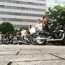 """【エンタがビタミン♪】チュート・徳井と""""バイク芸人""""ヤングチームがツーリング。ピース・綾部も「最高伝説の始まり!」と興奮。"""