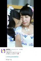 【エンタがビタミン♪】SKE48・高柳明音、卒業間近の松井玲奈とキス寸前ショット。ファンは「泣かせないで~」