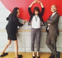 【エンタがビタミン♪】板谷由夏・有村架純・竹中直人がスーツ姿で3ショット。新ドラマでの共演にファンも期待大。