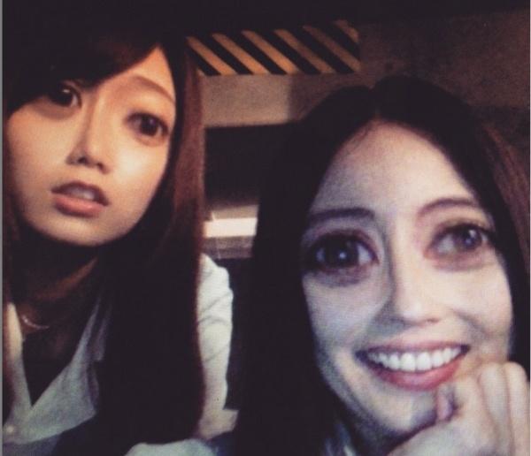 【エンタがビタミン♪】森カンナの指が長すぎる!? 吉高由里子が撮影したベッキーとのツーショットが話題に。スパムコメント返しも見事!