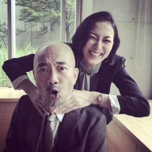 【エンタがビタミン♪】板谷由夏と竹中直人がロケで共演。楽しそうなツーショットに期待高まる。