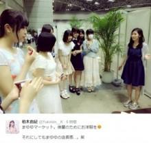 """【エンタがビタミン♪】AKB48・渡辺麻友の""""まゆマーケット""""が大盛況。若手メンバーが殺到する。"""