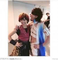 """【エンタがビタミン♪】T.M.R西川貴教とWaTが『HOT LIMIT』をコラボ。ウエンツの""""スケスケ衣装""""に騒然。"""