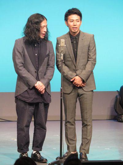 又吉の芥川賞受賞後初めて劇場に立つピース