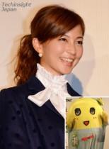【エンタがビタミン♪】安田美沙子、友人の結婚式でふなっしーと遭遇。ご祝儀を携え、あの姿でお祝いに駆けつける。