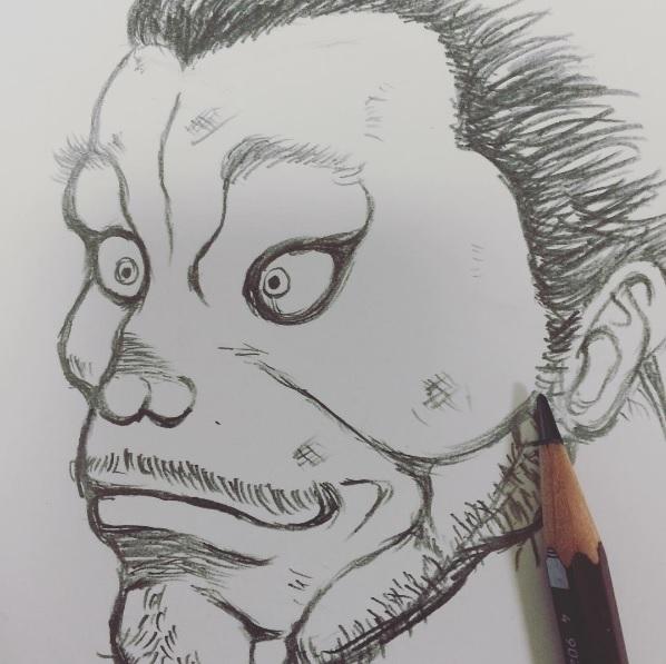 """【エンタがビタミン♪】バカリズムが描いた""""宮本武蔵""""のクオリティが半端ない! さらなる多才ぶりを披露。"""