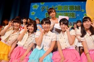紺野あさ美と踊る賞を受賞した武蔵大学Lollipop