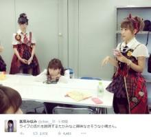 【エンタがビタミン♪】高橋みなみと小嶋陽菜の名コンビ。AKB48での姿に感慨「この光景もあと3か月かぁ」
