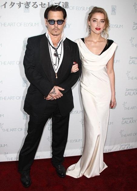 【イタすぎるセレブ達】ジョニー・デップの妻アンバー・ハード、結婚後も「私はすごく自由な身」