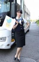 """【エンタがビタミン♪】松井玲奈が""""バスガイド姿""""で名古屋観光ツアーに同乗。最終目的地のSKE48劇場では何が!?"""
