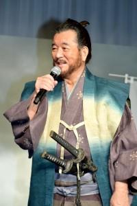 15年ぶりに俳優業に復帰した 加山雄三