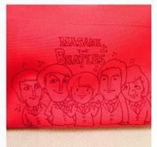 """【エンタがビタミン♪】長澤まさみがビートルズとコラボ? """"MASAMIとTHE BEATLES""""イラストが可愛い。"""