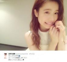 """【エンタがビタミン♪】ぱるる""""天使の笑顔""""見せる。『Mステ ウルトラFES』後にAKB48メンバーをも魅了。"""