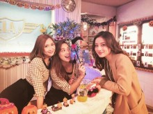 """【エンタがビタミン♪】石原さとみ、紗栄子、中村アンが3ショット""""新月9""""に期待高まる。"""