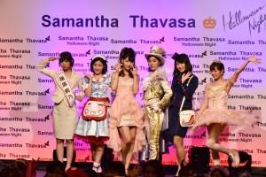 個性を活かしたコスプレを披露したAKB48のメンバー6人