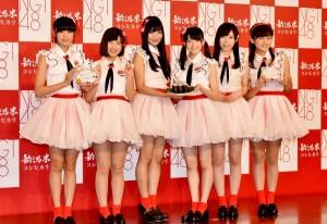 イベントに登壇したNGT48のメンバーたち