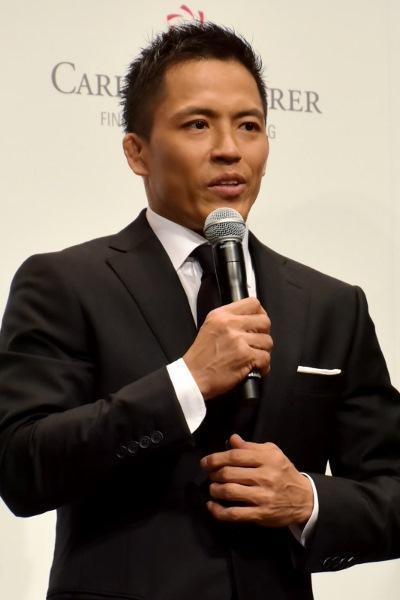 「大きな舞台は沢山経験しているが、プルプルと緊張しています」野村忠宏氏