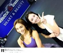 【エンタがビタミン♪】黒木メイサがすっぴん姿。トレーニング後に笑顔見せる。