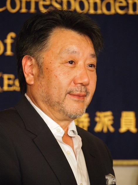 日本外国特派員協会の記者会見にて。原田眞人監督