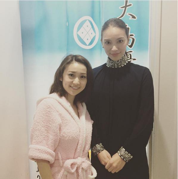 大島優子と秋元才加(画像は『秋元才加 Instagram』より)