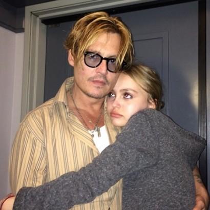 【イタすぎるセレブ達】ジョニー・デップ、愛娘の芸能活動が「心配でたまらない」