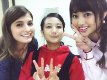 【エンタがビタミン♪】マギー&菊地亜美&清水富美加が3ショット「ふみカス、顔ちっさ!」