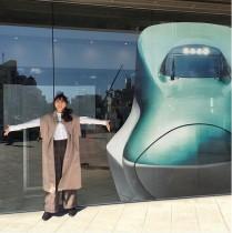 【エンタがビタミン♪】松井玲奈にJR九州・折尾乗務センターが熱烈アピール「N700系も居ます」