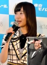 【エンタがビタミン♪】指原莉乃、月9出演の上島竜兵で演技の勉強。将来は女優志望?