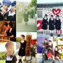 【エンタがビタミン♪】重盛さと美、韓国で制服コスプレ。レトロ感溢れる姿が「可愛い」