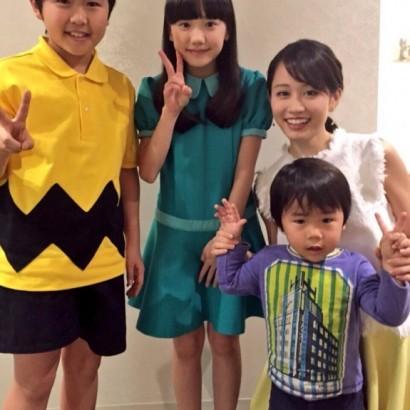 【エンタがビタミン♪】前田敦子、福くん愛菜ちゃんと並んでも「顔ちっさい」