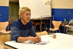 「自分のキャラを活かした役じゃないものをやってみたいんですけど、できるかどうか(笑)」田村亮