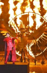 炎の演出は初めての小林幸子