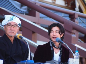 大竹まことのラジオ番組にゲスト出演した武田真治