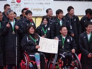 優勝を喜ぶ『神奈川スターズ』