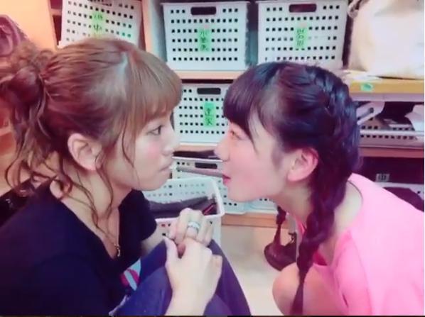 【エンタがビタミン♪】AKB48・高城亜樹がポッキーゲームでキス寸前「恥ずかしがるあきちゃが可愛い」