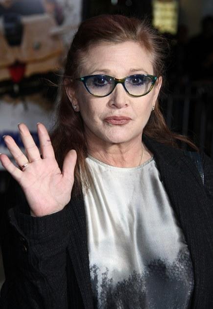 【イタすぎるセレブ達】『スター・ウォーズ』キャリー・フィッシャー「レイア姫は私。復帰決意も容易かった」