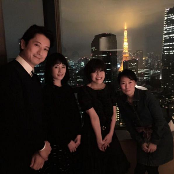 【エンタがビタミン♪】原田知世が谷原章介らと打ち上げ。48歳誕生日に「変わらないかわいさ」