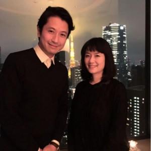 谷原章介と原田知世。(画像は『instagram.com/o3a3_haratomo』より)